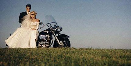 A girl,. a guy, a wedding in Vegas, and  a Harley -- a recipe for disaster